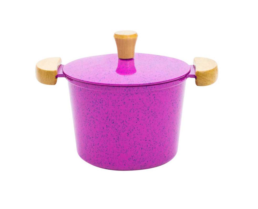 Caldeirão Alumínio Fundido - Pink