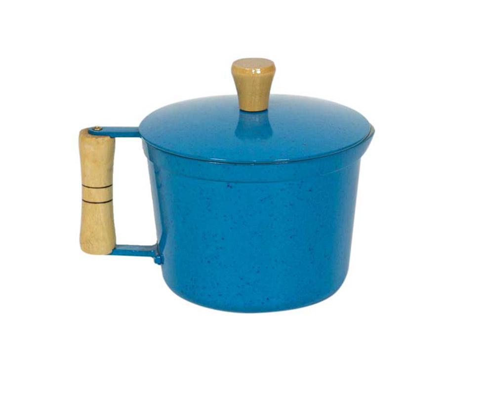 Fervedor AlumÍnio Fundido - Azul Mesclado