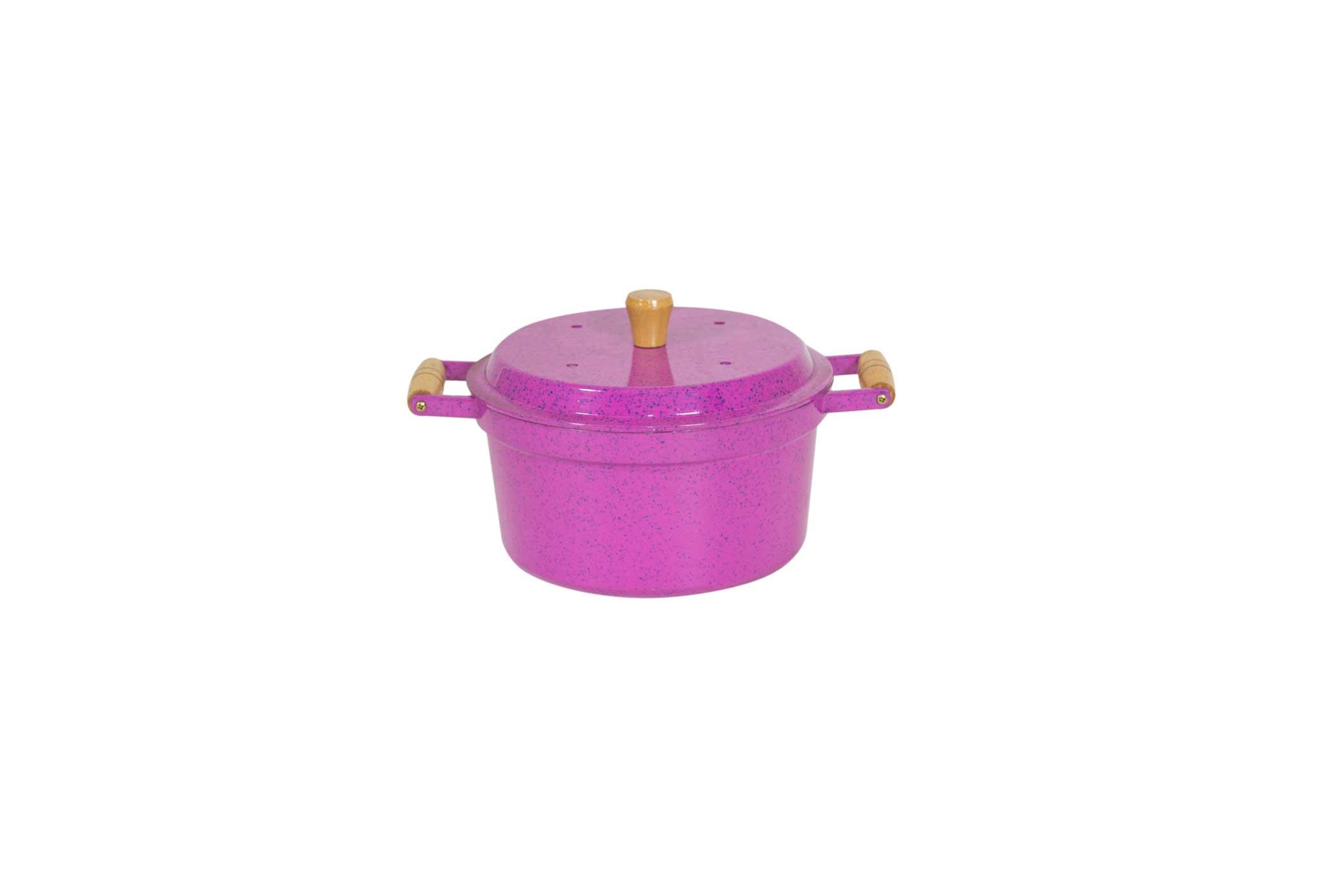 Caçarola Mágica 3 em 1 AlumÍnio Fundido - Pink