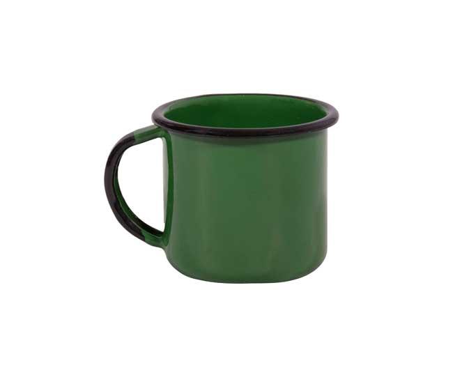Caneca Esmaltada Nº06 Verde